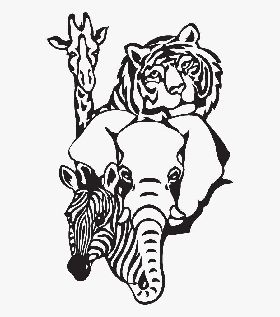 Zoo Animals Clip Art, Transparent Clipart