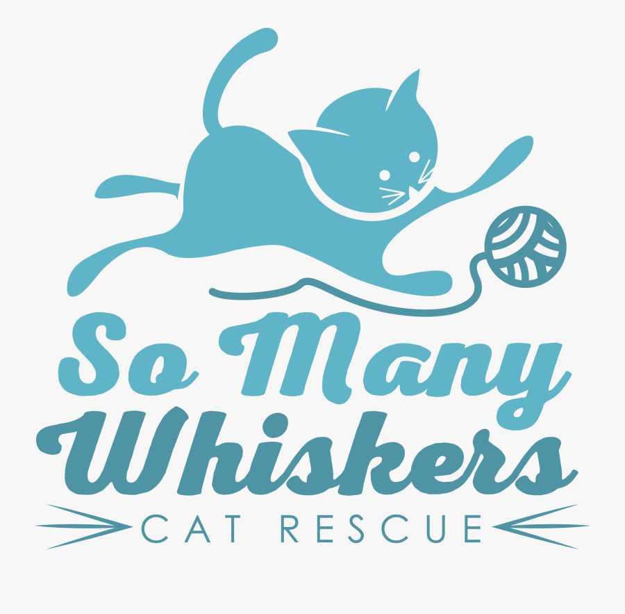 Transparent Cat Whiskers Png - Cat Playing With Yarn, Transparent Clipart