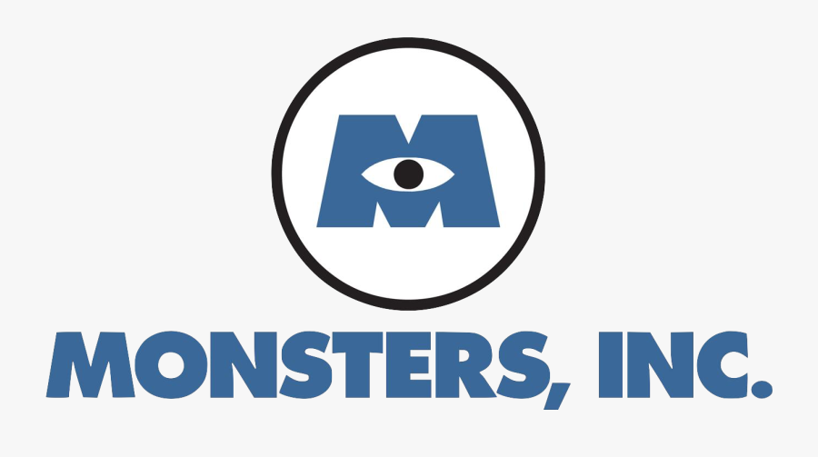 Logopedia - Monsters Inc Logo Png, Transparent Clipart