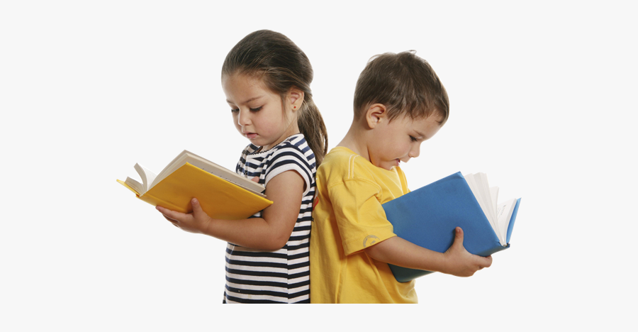Boy And Girl Study, Transparent Clipart
