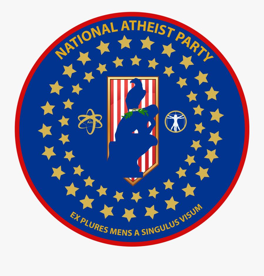 Transparent Atheist Symbol Png - Man In The High Castle Nazi Flag, Transparent Clipart