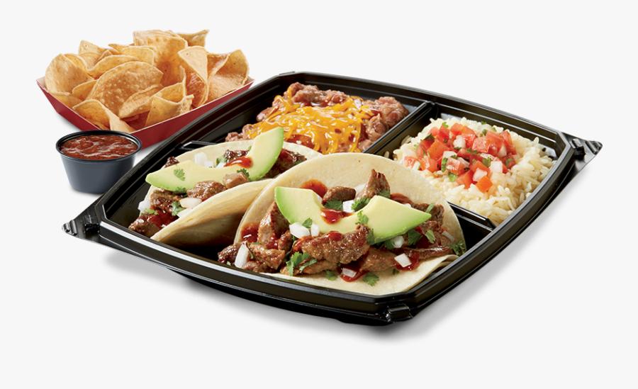 Tacos Clipart Street Taco - Del Taco Street Taco Plate, Transparent Clipart
