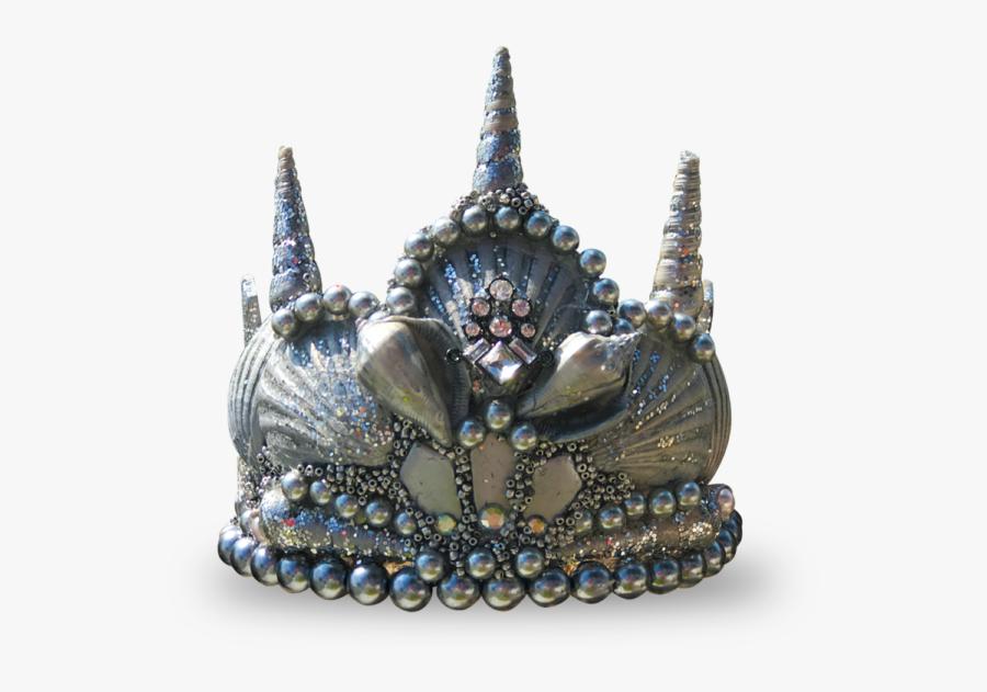 Transparent Princess Tiara Png - Seashell Crown Png, Transparent Clipart