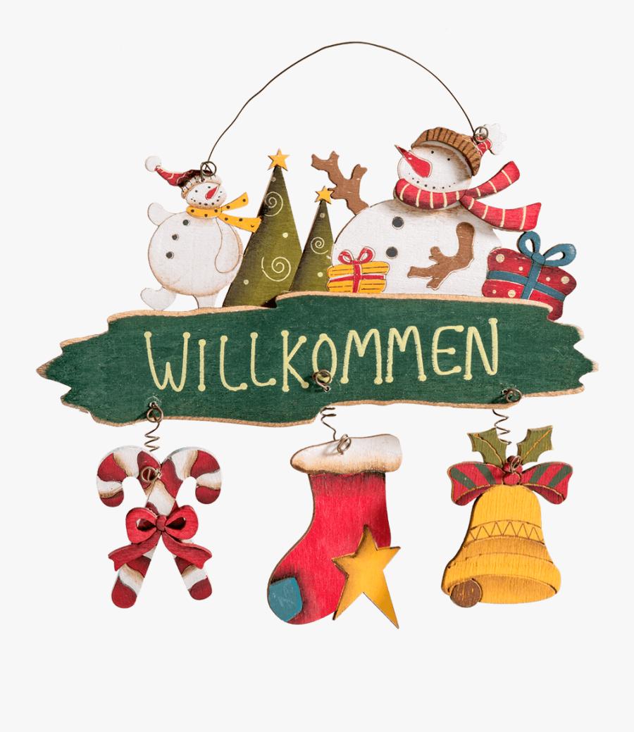 Transparent Welcome Christmas - Christmas Stocking, Transparent Clipart