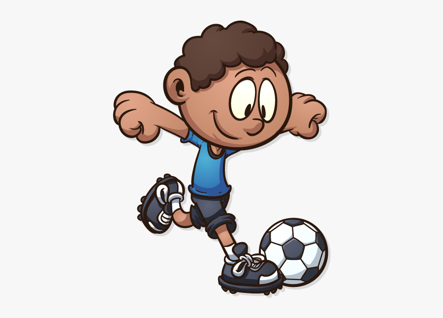 Play Clipart September Football Cartoon Kids Playing Soccer Free Transparent Clipart Clipartkey