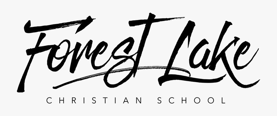 Forest Lake Christian School - Calligraphy, Transparent Clipart