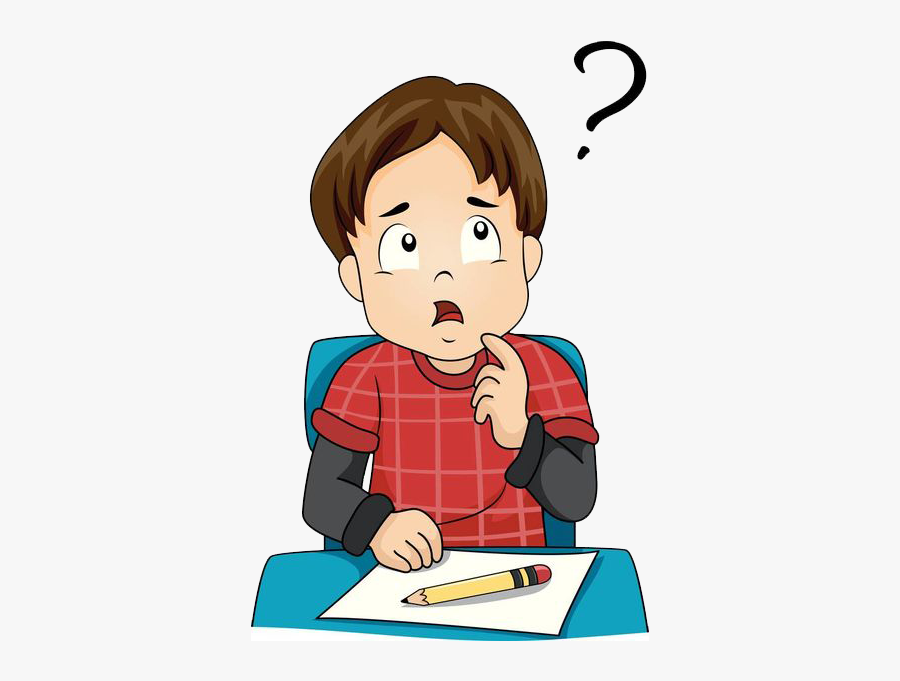 Indian Education System Advantages Disadvantages - Student Thinking Clipart Png, Transparent Clipart