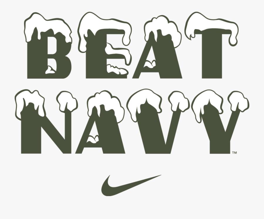 Beat Navy 10mtn Wordmark - Beat Navy 10th Mountain, Transparent Clipart