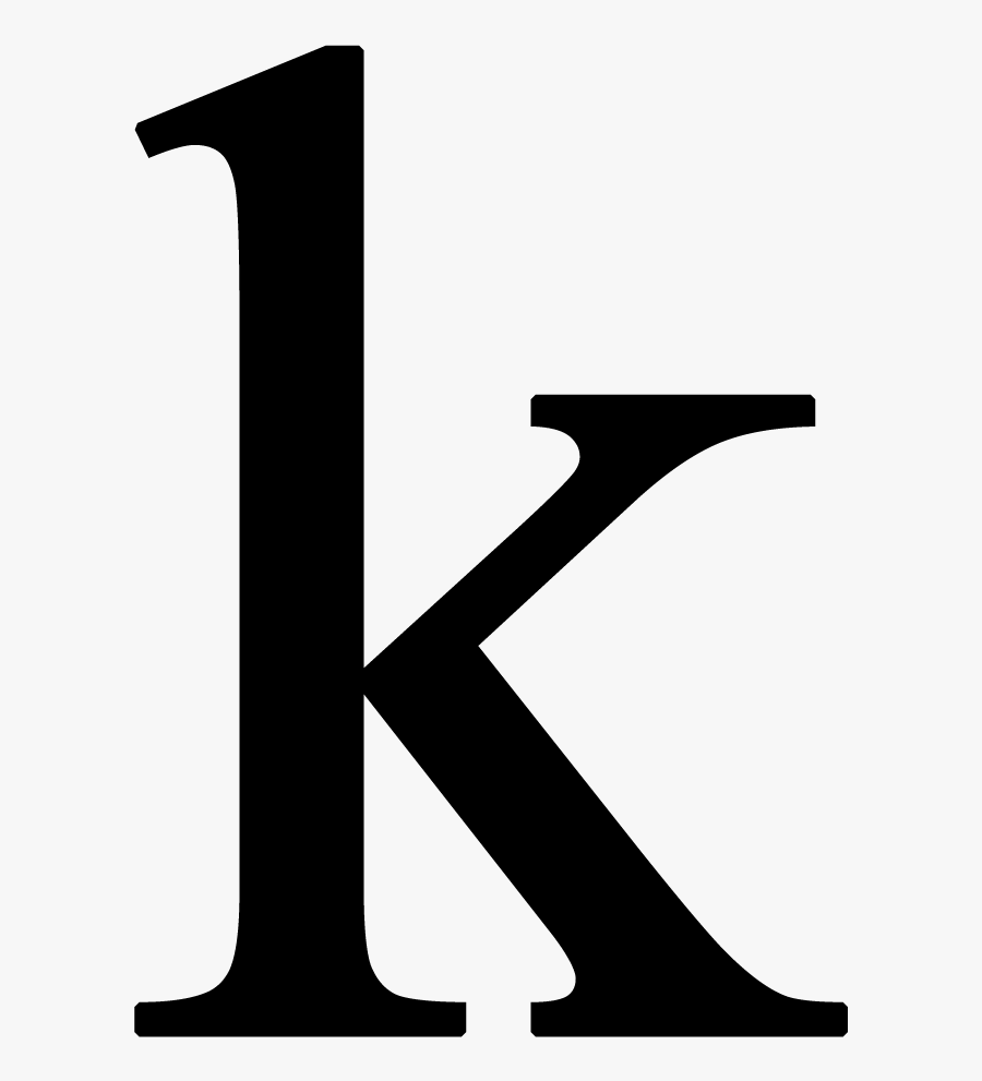 Letter K Png - Conversation Is Now Over, Transparent Clipart