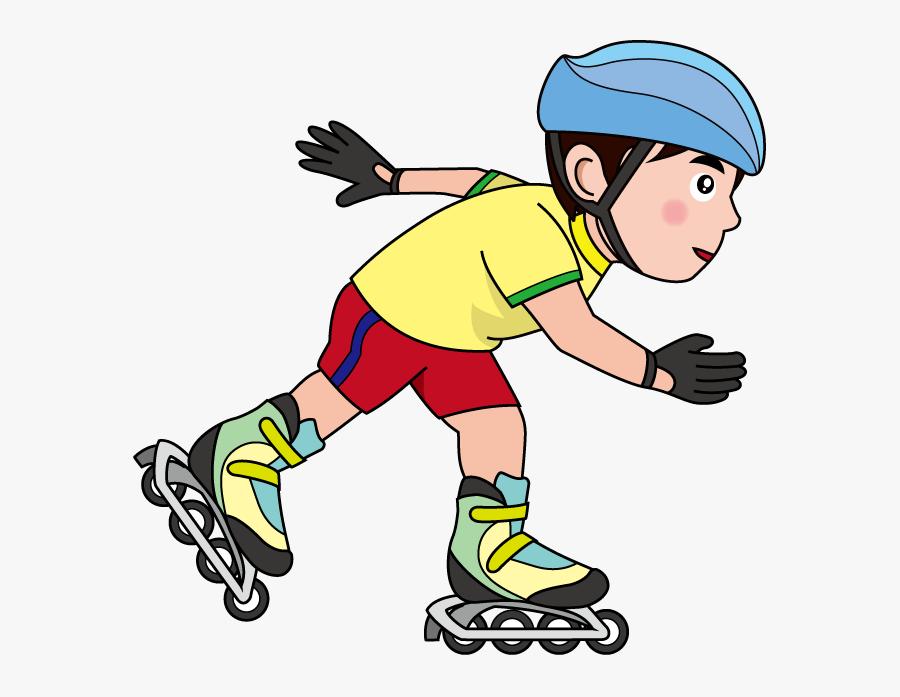 Inline Skating Clipart , Transparent Cartoons - Inline Skating Clipart, Transparent Clipart