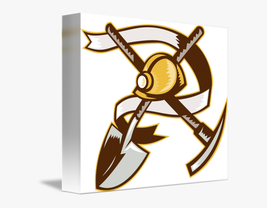 Clip Art Miner Hardhat - Proud To Be A Miner, Transparent Clipart