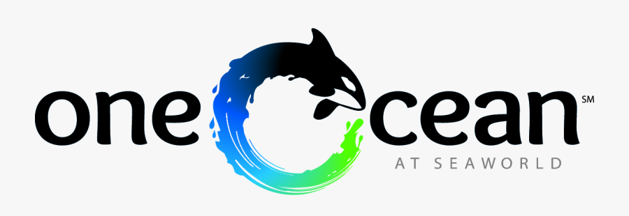 Seaworld Attraction / One Ocean Clipart (1188x357), - Sea World One Ocean, Transparent Clipart