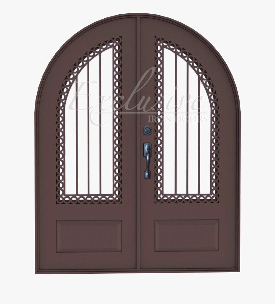 Round Double Door Png - Home Door, Transparent Clipart