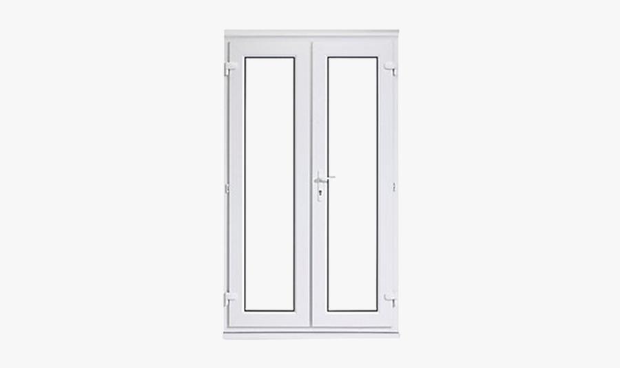 Clipart Door Double Door - Rehau Upvc French Doors, Transparent Clipart