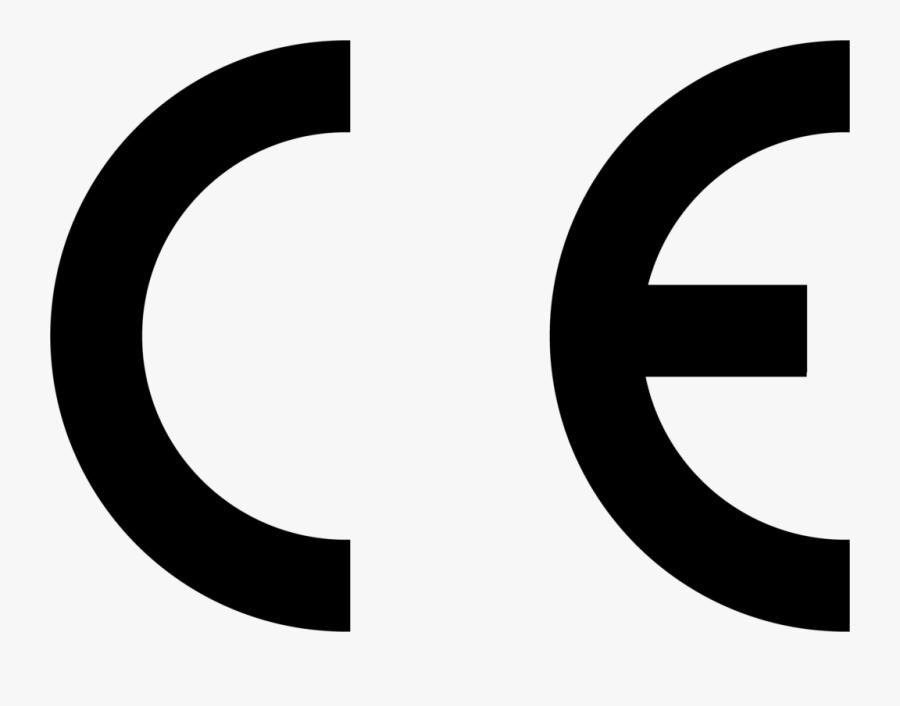 Ce Certification Logo, Transparent Clipart