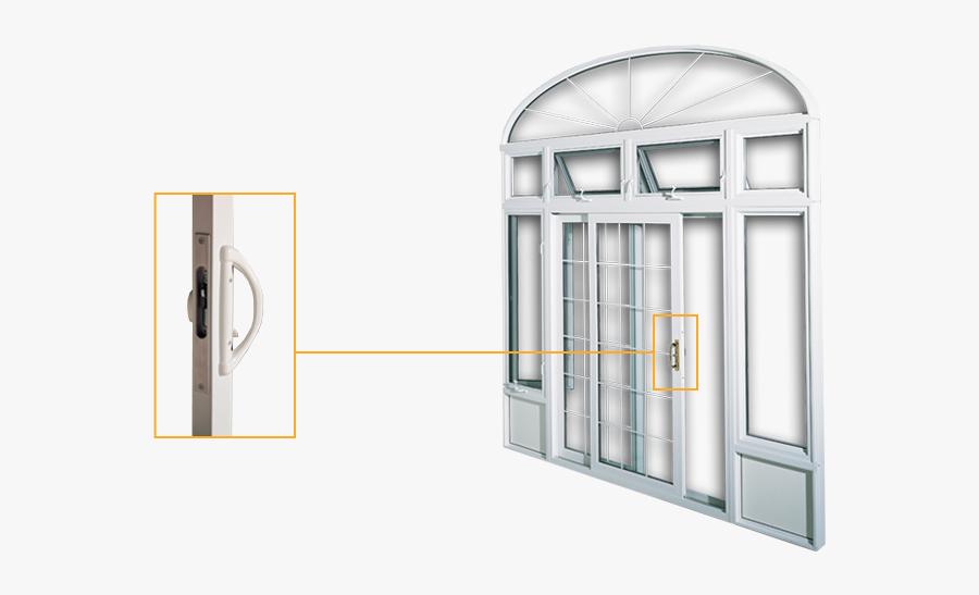 Patio Doors, Transparent Clipart