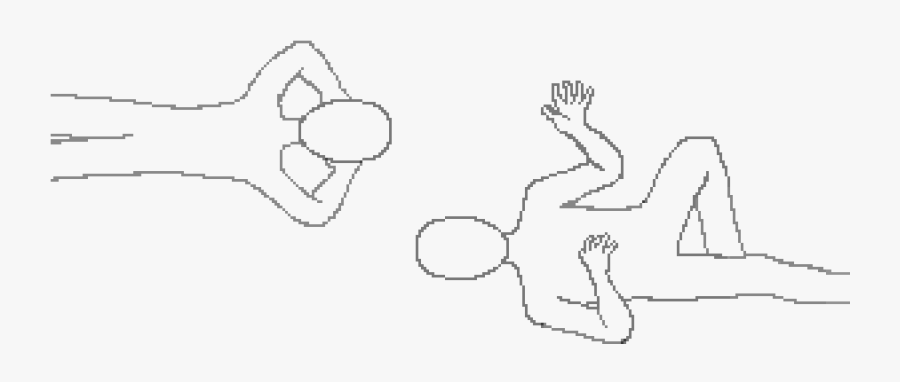 Two People Base - Drawing Base Two People, Transparent Clipart