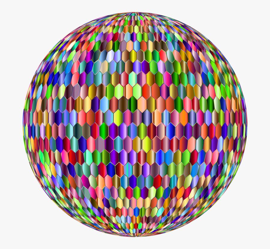 Sphere,circle,easter Egg - Hexagon, Transparent Clipart