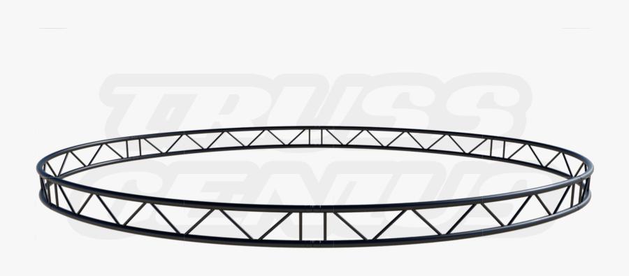 Oval Truss Circle - Circle, Transparent Clipart