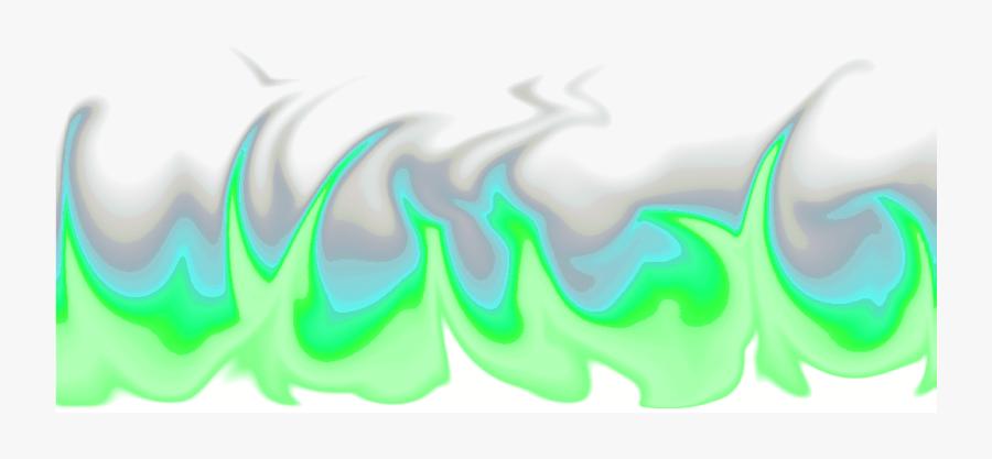 Transparent Blue Flames Png - Transparent Green Fire Png, Transparent Clipart