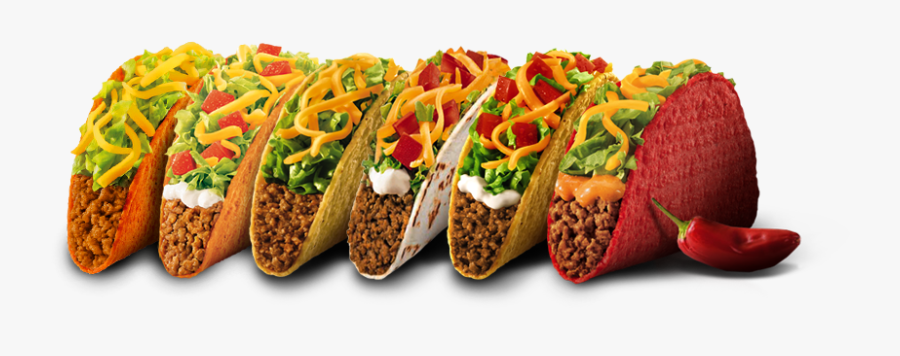 Bell Tacos Are Not - Transparent Taco Bell Tacos, Transparent Clipart