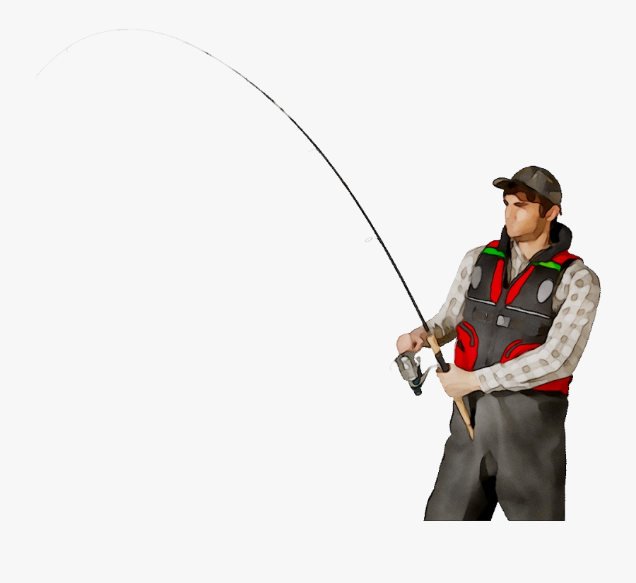 Fishing Rods Fisherman Portable Network Graphics Clip - Fisherman Transparent Background Png, Transparent Clipart