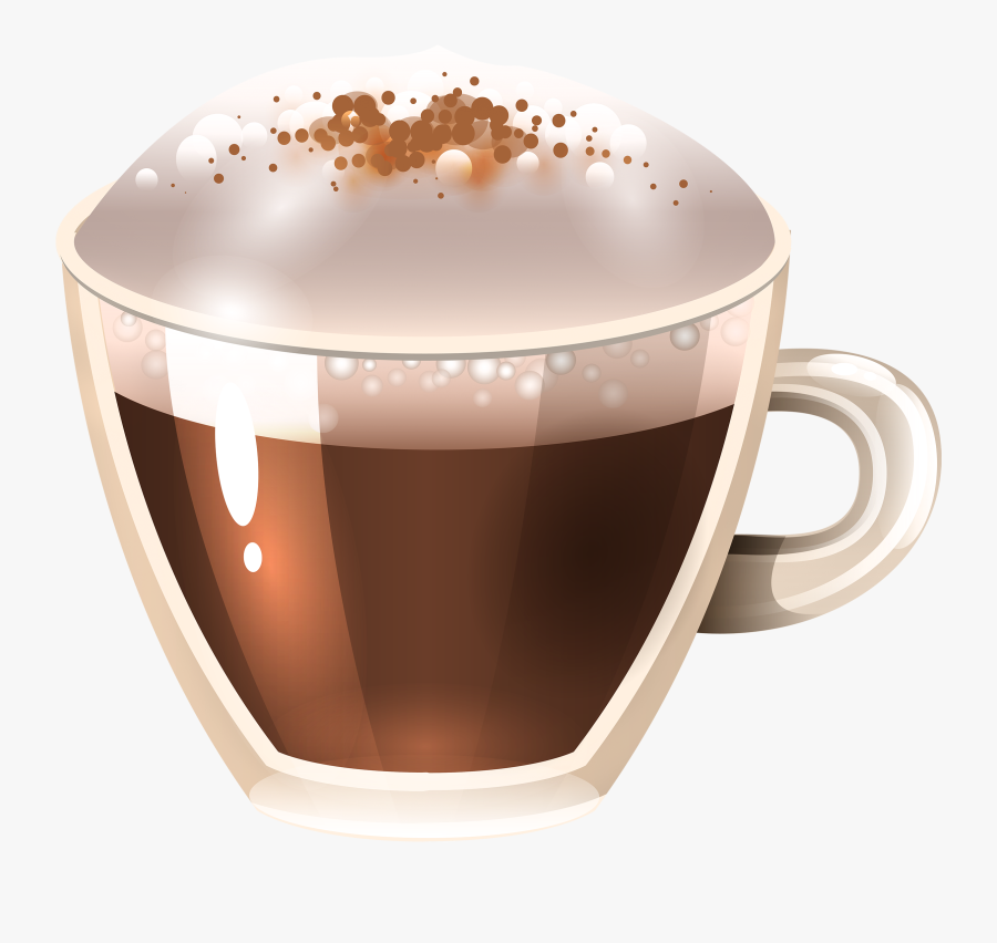 Hot Clipart Hot Chocolate Cookie - Cappuccino, Transparent Clipart