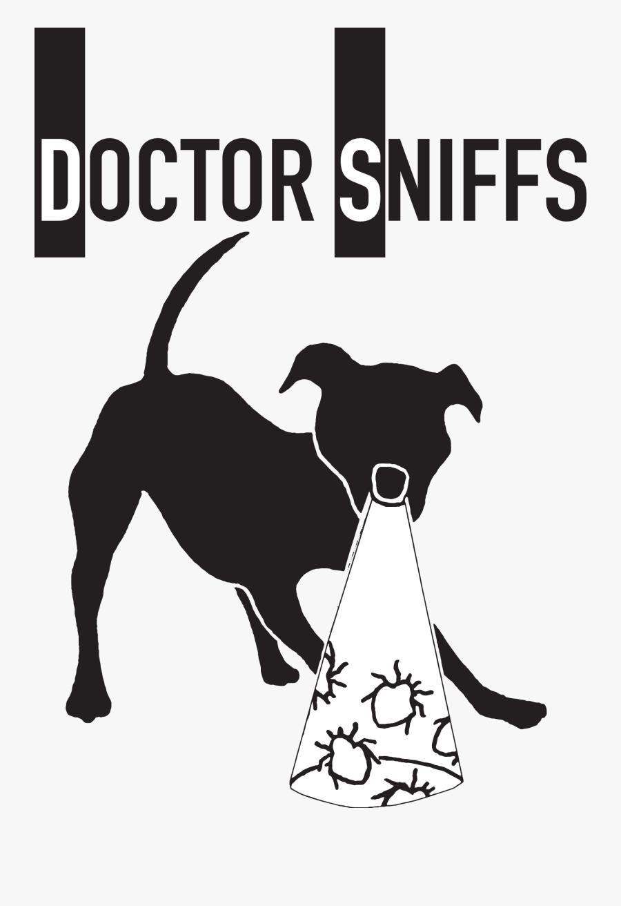 Doctor Sniffs - Dog Licks, Transparent Clipart