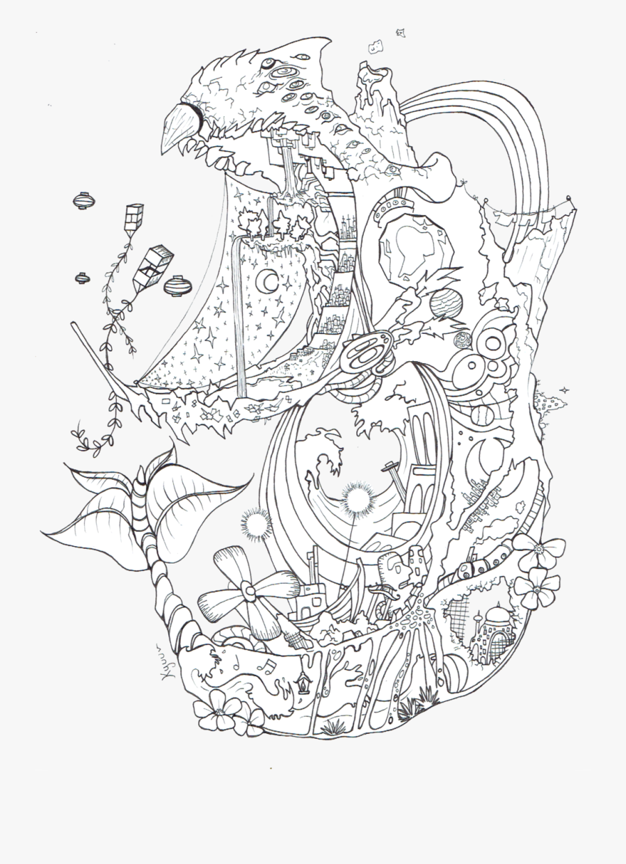 Odd Howl S Moving Castle Coloring Pages Spirited Away Howls Moving Castle Coloring Free Transparent Clipart Clipartkey