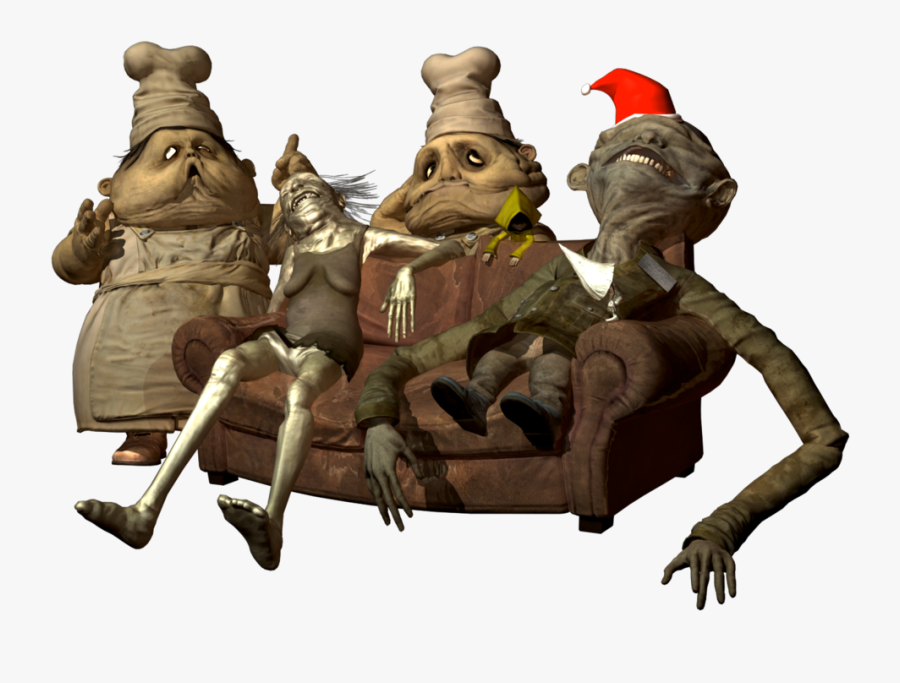 Little Nightmares, Playstation 4, Chef, Tree, Fictional - Little Nightmares The Chefs, Transparent Clipart