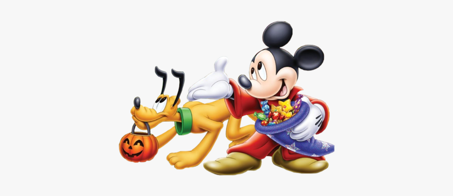 Mickey Mouse Halloween Png - Disney Mickey Mouse Pluto Halloween, Transparent Clipart