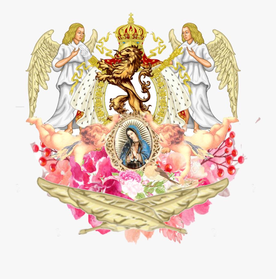 Trinitus Auctoritus Sanctus Pater Mater Espiritv Blason - Coat Of Arms Of France, Transparent Clipart