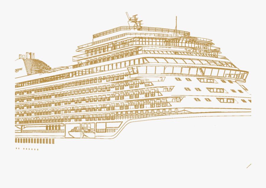 Transparent Cruise Ship Png - Cruise Ship, Transparent Clipart