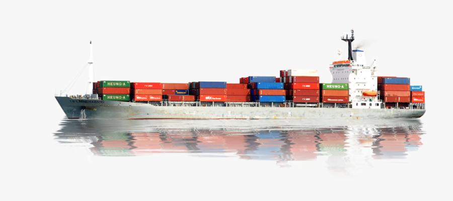 Cargo Ship Transparent Background, Transparent Clipart