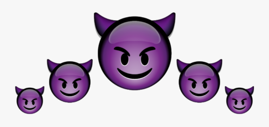 bad #picsart #emojicrown #crown #emoji #emojies #crownemoji - Devil Emoji  Sticker Png , Free Transparent Clipart - ClipartKey