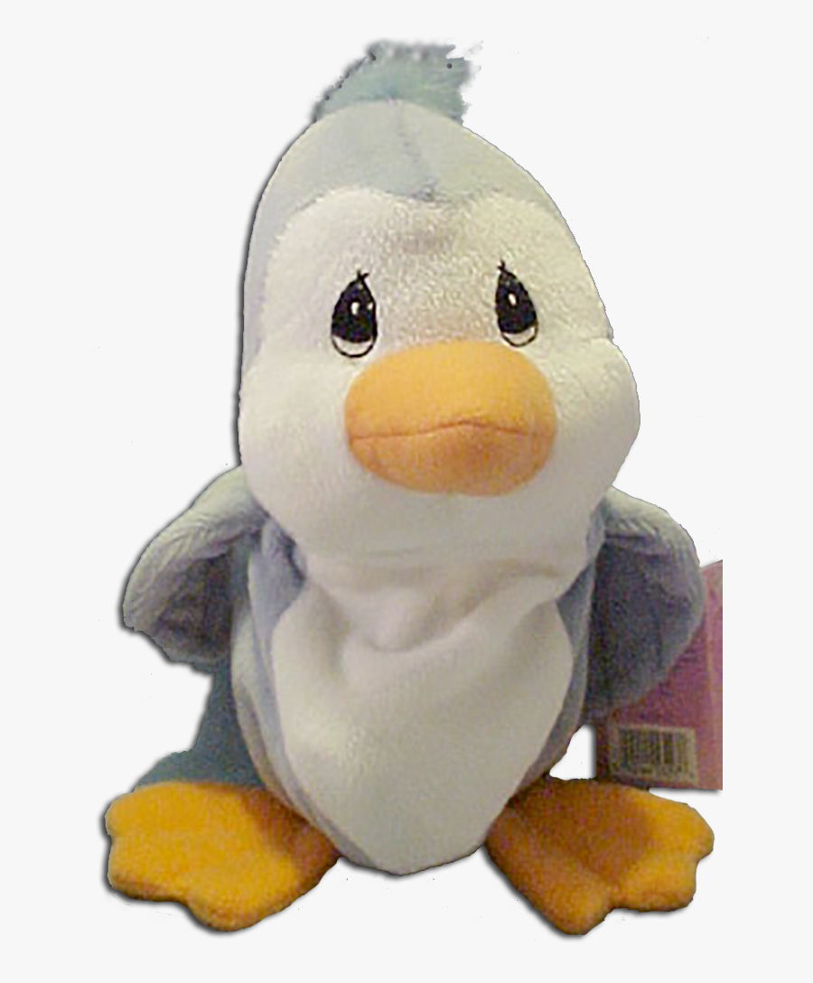 Precious Moments Tender Tail Bean Bag Plush Slate Penguin - Stuffed Toy, Transparent Clipart