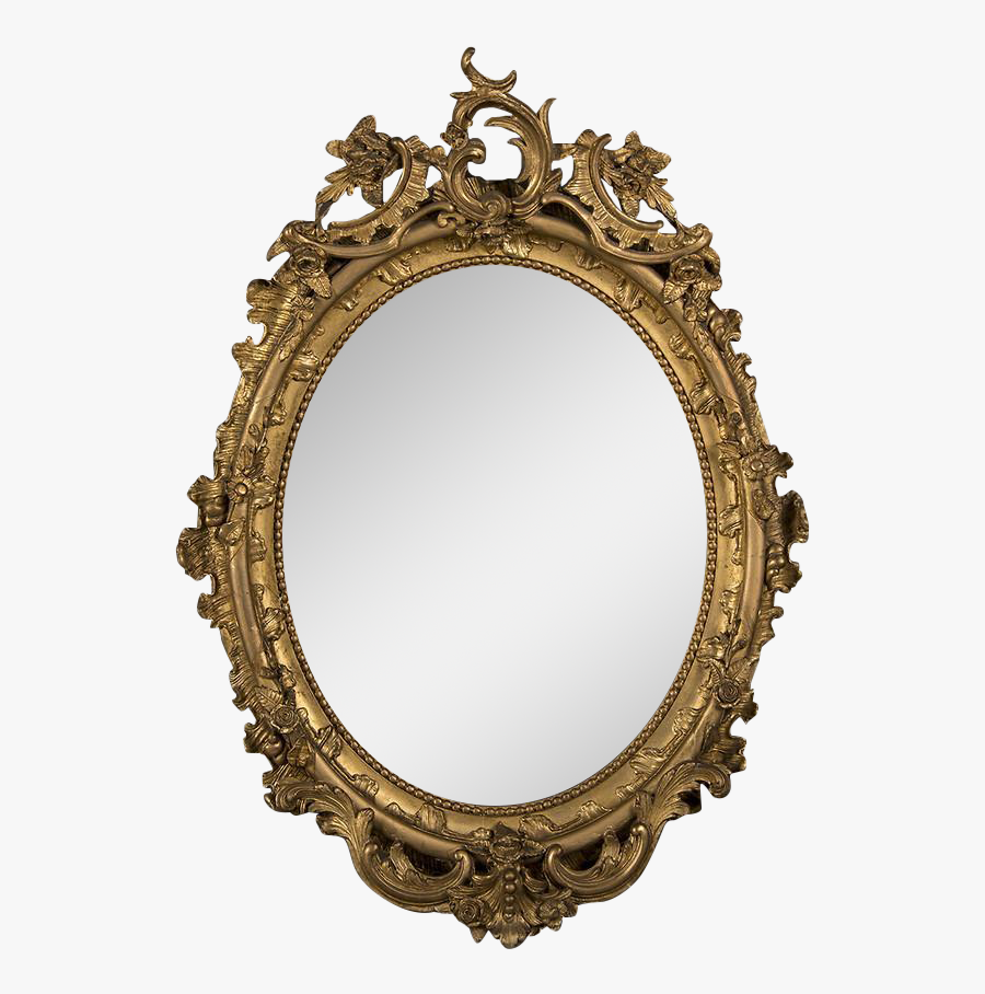 Old Fashioned Antique Picture Frame Clipart , Png Download - Old Fashioned Portrait Frame, Transparent Clipart