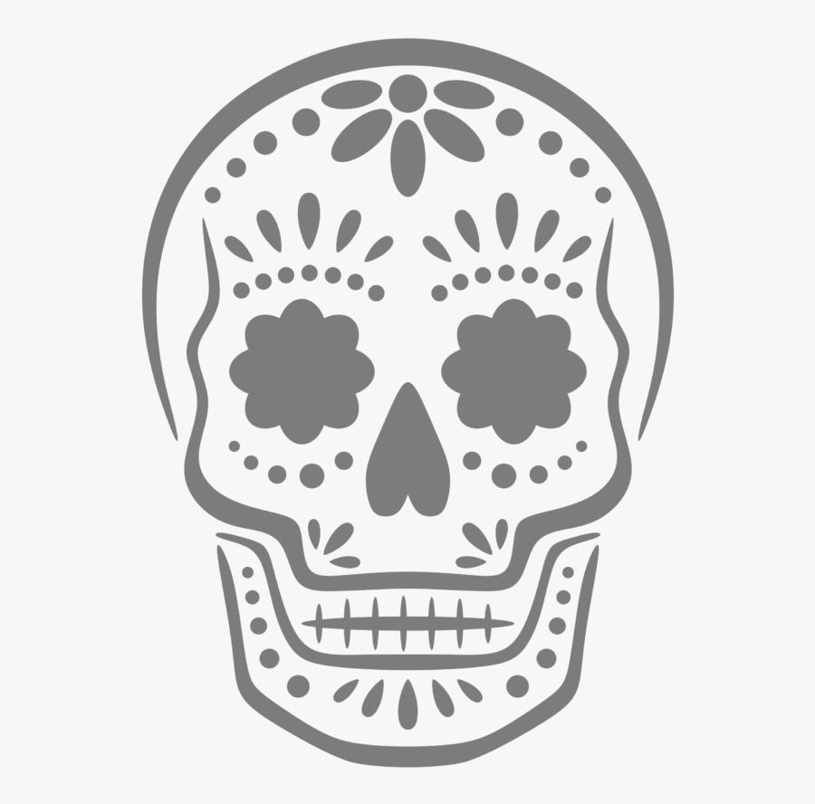 Transparent Pumpkin Head Png - Easy Sugar Skull Pumpkin Carving Stencils, Transparent Clipart