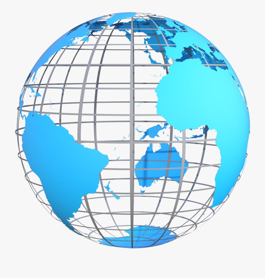 Transparent Earth Planet Png - World Globe, Transparent Clipart