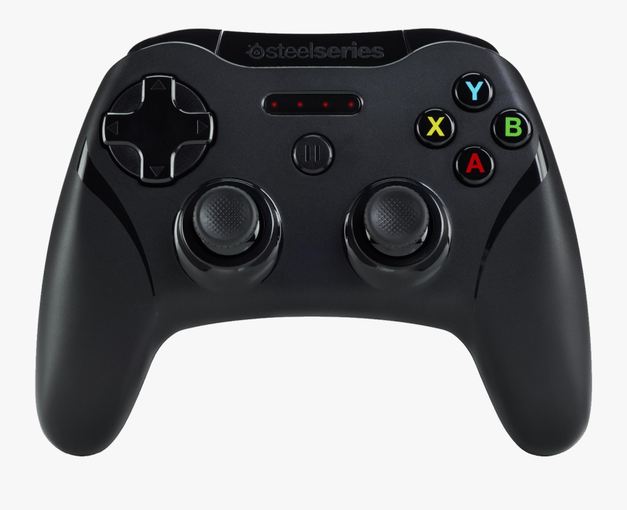 Xbox Clip Art - Steelseries Stratus Xl Vs Xbox One Controller, Transparent Clipart