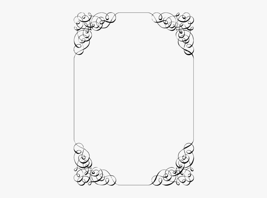 Wedding Invitation Border Png - Blank Template Invitation Design, Transparent Clipart