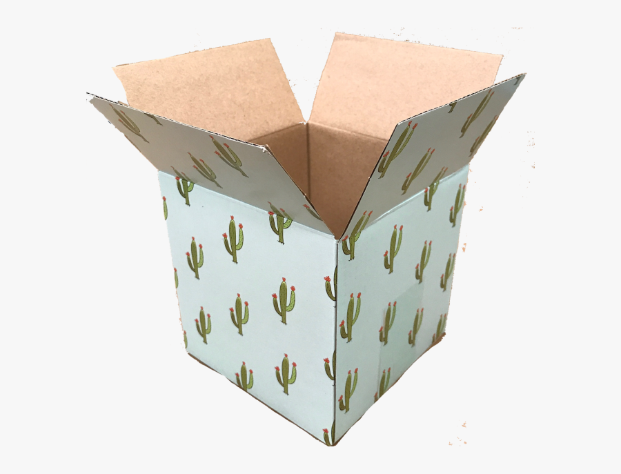 Shipping Box Png - Construction Paper, Transparent Clipart
