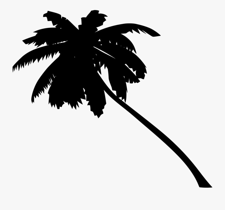 Orange Palm Tree Png, Transparent Clipart