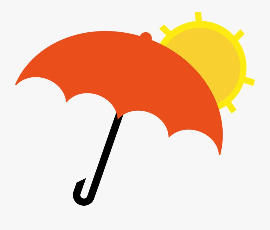 Umbrella Rain Vector Png, Transparent Clipart
