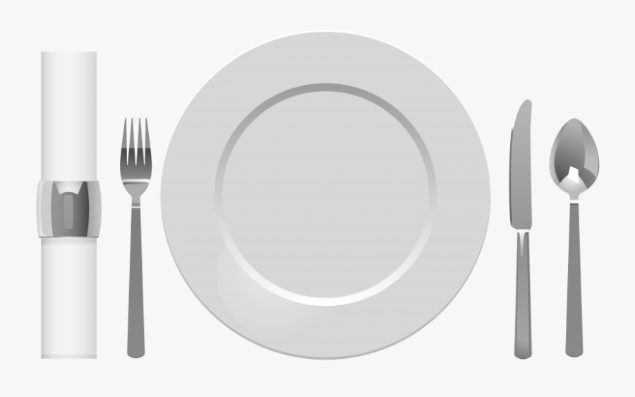 Download Plate Spoon Table - St. Paul's Church, Transparent Clipart