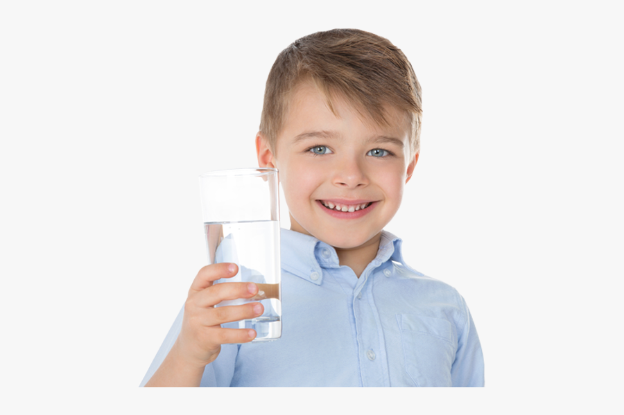 Kid Drinking Water Png - Boy Drinking Water Png, Transparent Clipart