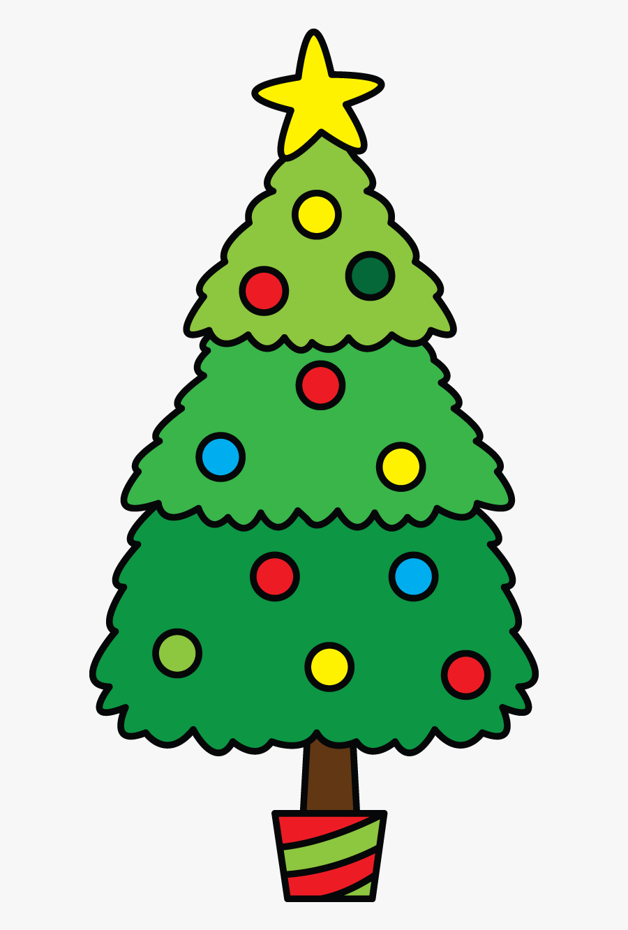 Next In The Line Of Christmas Items Is A Christmas - Do Christmas Tree Drawing, Transparent Clipart