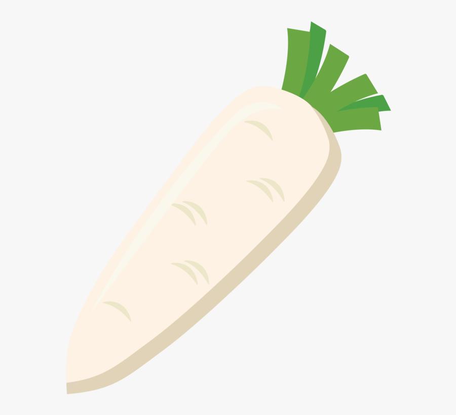 Plant,vegetarian Food,food - Daikon, Transparent Clipart