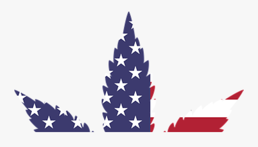 Trump-approved States Act Could Change Everything For - Cannabis Leaf Usa Flag, Transparent Clipart