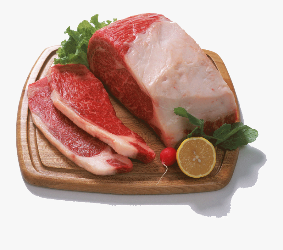 Beef Vector Raw Meat - Meat, Transparent Clipart